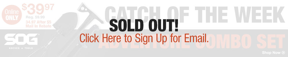 Sold Out - Click Here to Sign Up for Email