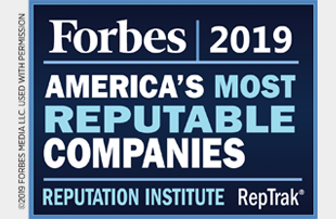 Forbes America's Most Reputable Companies