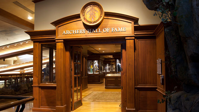 Entrance into the Archery Hall of Fame and Museum