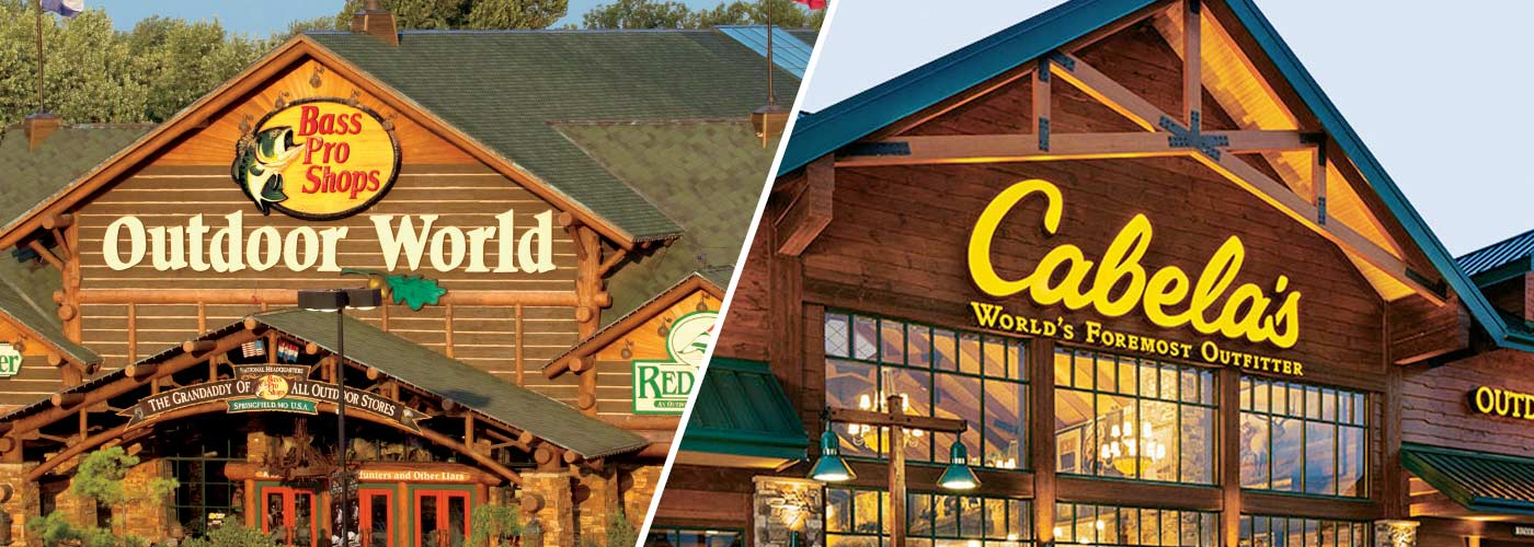 Bass Pro Shops Outdoor World / Cabela's World's Foremost Outfitter