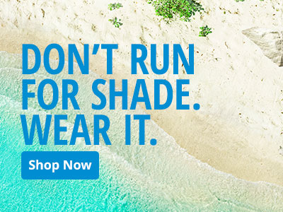 Don't Run for Shade. Wear it.
