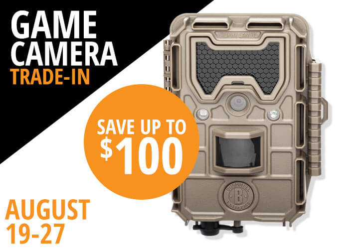 Game Camera Trade In August 19-27