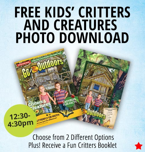 FREE KIDS' CRITTERS AND CREATURES PHOTO DOWNLOAD