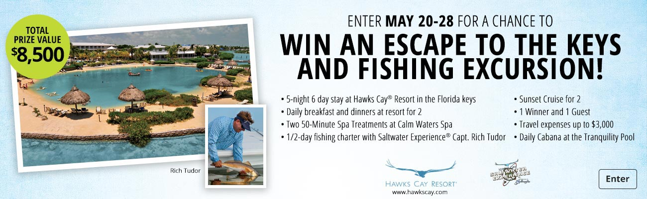 Win An Escape to the Keys And Fishing Excursion!