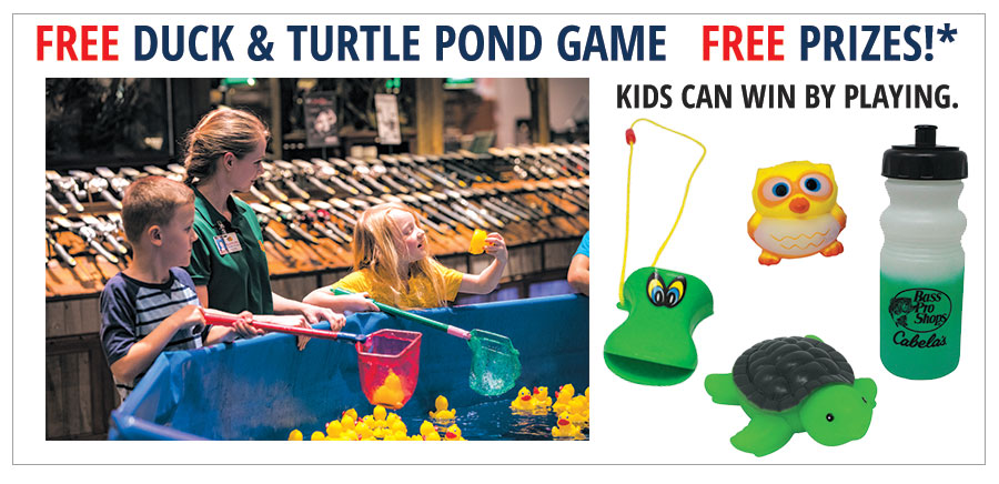 FREE DUCK & TURTLE POND GAME
