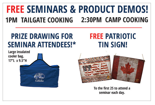 free seminars and product demos