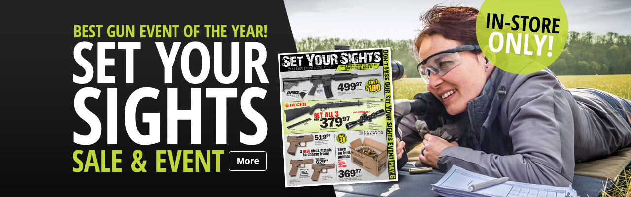 Set Your Sights Sale & Event