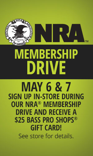 $25 Bass Pro Gift Card for Joining or Renewing NRA Membership ...