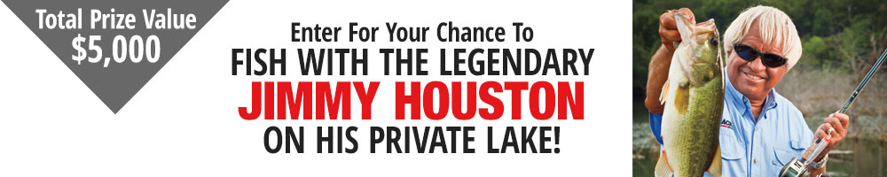 Enter For Your Chance To Fish With Jimmy Houston!