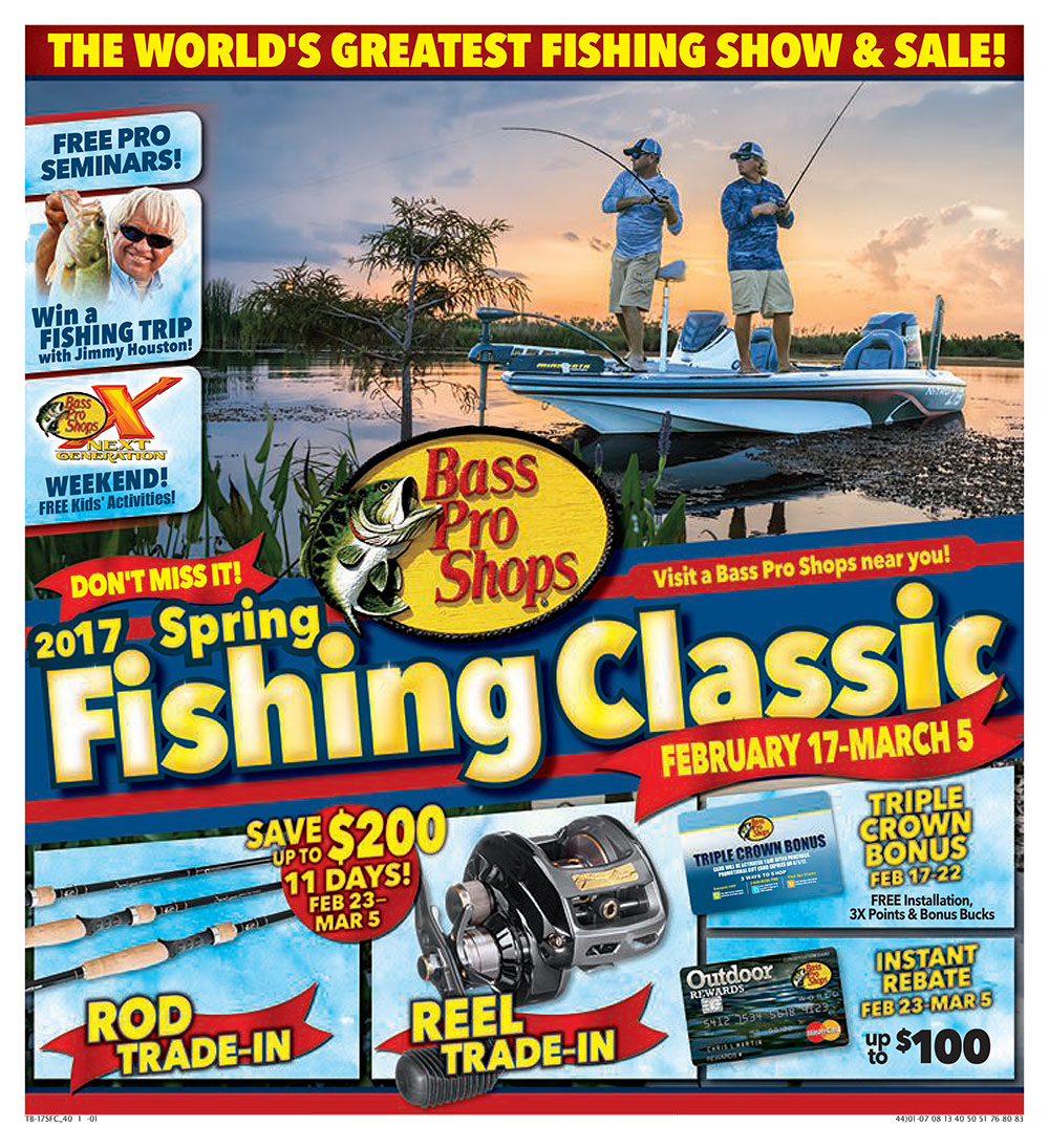 Spring fishing classic 2017 presented by bass pro shops for Free fishing day 2017 pa