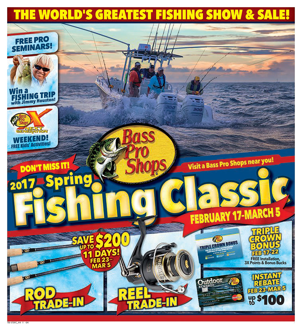 2018 Spring Fishing Classic at Bass Pro Shops
