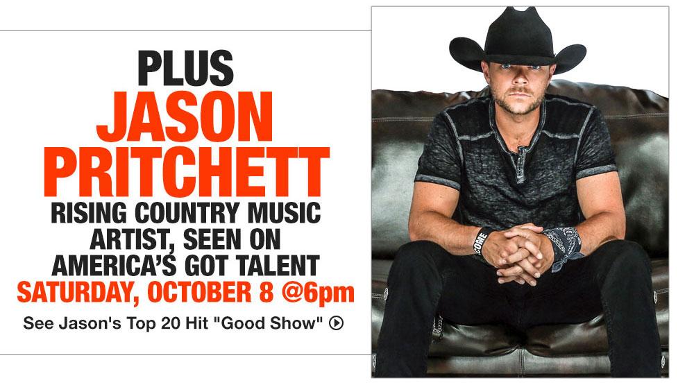 FREE Jason Pritchett Concert