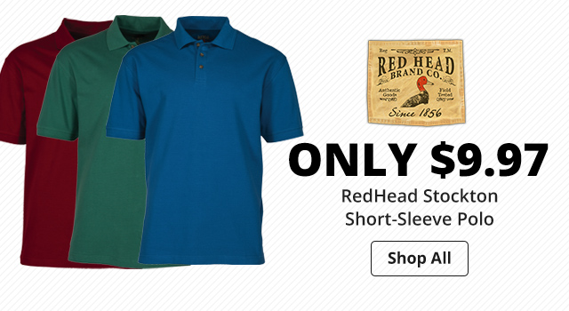 RedHead Stockton Short-Sleeve Polo - Shop Now