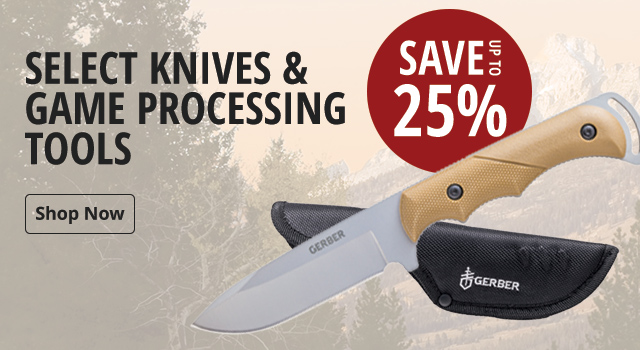 Select Knives & Game Processing tools - Shop Now