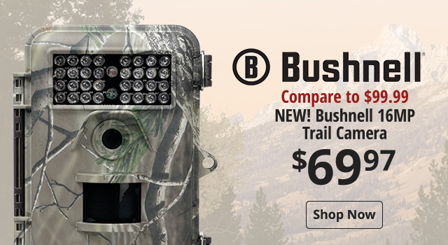 Bushnell 16MP Trail Camera - Shop Now
