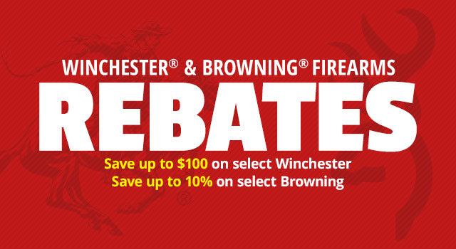 Winchester & Browning Rebates