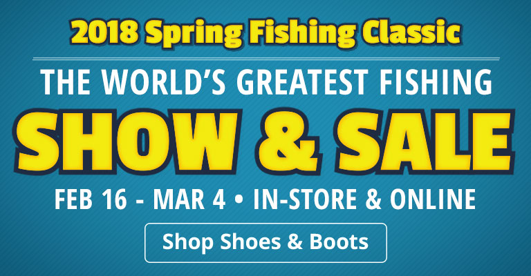 2018 Spring Fishing Classic Show & Sale - Shop Shoes & Boots