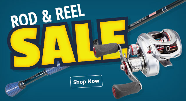 Rods & Reels Sale - Shop Now