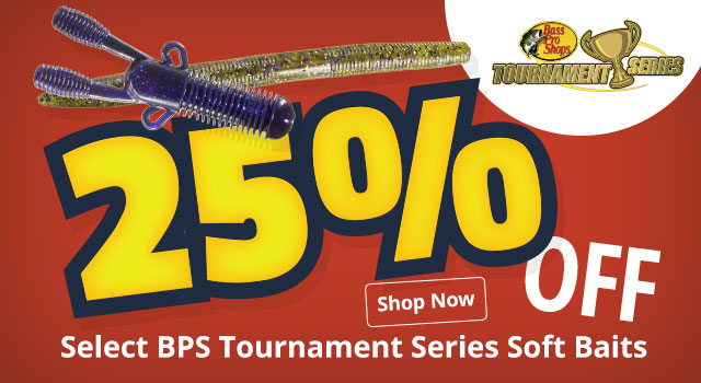 25% OFF XPS Soft Plastics