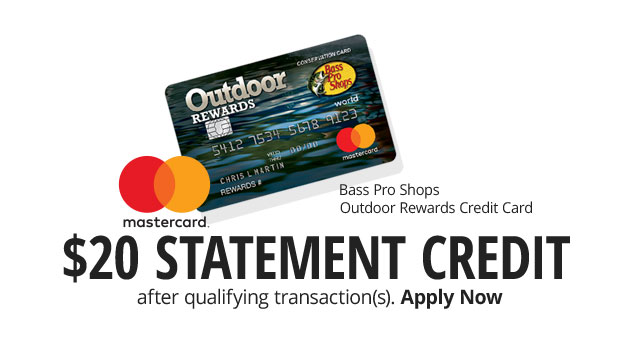$20 Statement Credit After Qualifying Transaction(s) - Apply Now