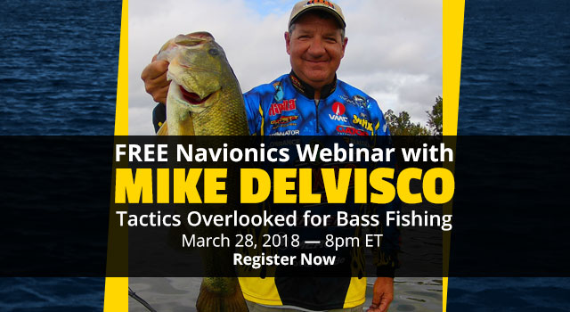 FREE Navionics Webinar with Mike Delvisco