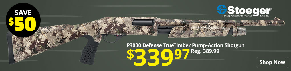 Save $50 on Stoeger Pump-Action Shotgun - Shop Now