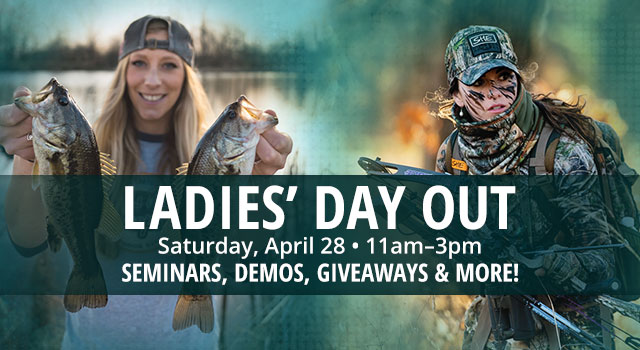 Ladies' Day Out, Saturday, April 28 11am - 3pm, Seminars/Demos Giveaways and More!
