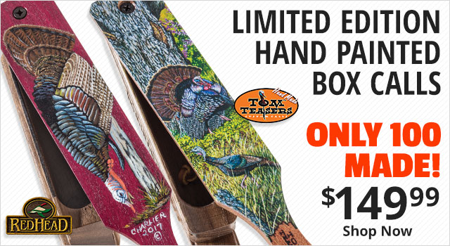 Limited Edition Hand Painted Box Calls. Only 100 Made $149.99 - Shop Now