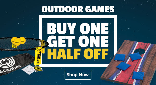 But One Get One Half Off Outdoor Games