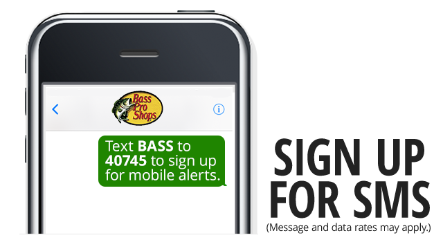 Sign up for SMS - Text BASS to 40745 to sign uo for mobile alerts