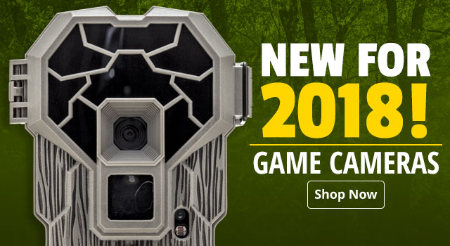 New for 2018! Game Cameras - Shop Now