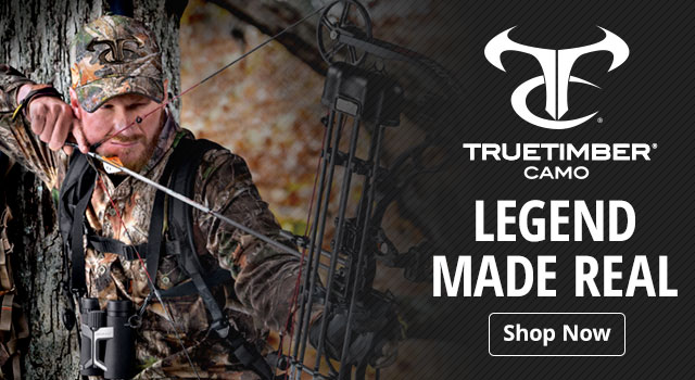 TrueTimber Camo. Legend Made Real - Shop Now