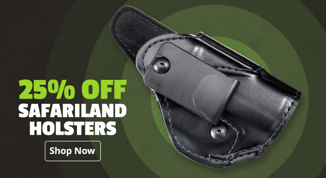 25% Off Safariland Holsters