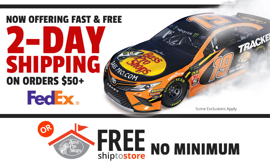 Fast & FREE 2 Day Shipping with FedEx