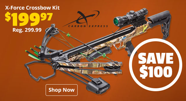 Carbon Express X-Force Crossbow Kit