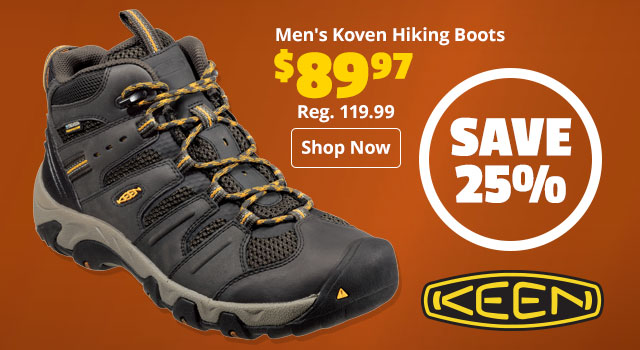 Keen Men's Koven Mid Hiking Boots