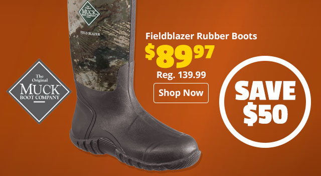 The Original Muck Boot Company Fieldblazer Rubber Boots