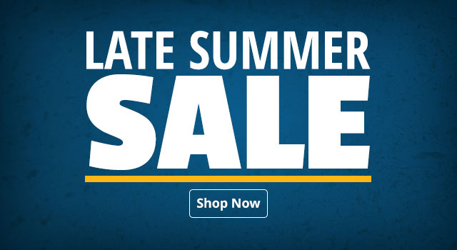 Late Summer Sale - Shop Now