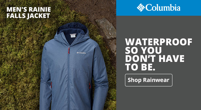 Waterproof so you don't have to be - Shop Now