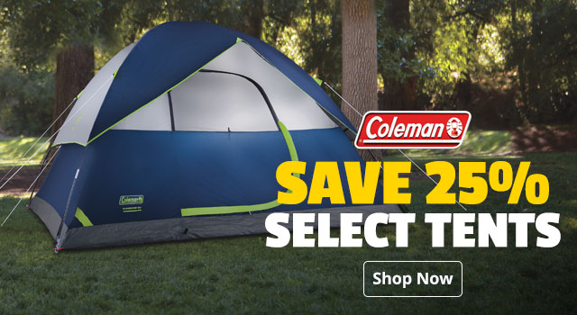 Select Coleman Tents