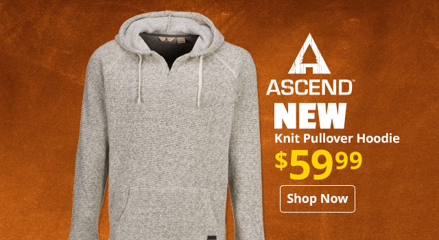 Ascend Knit Pullover Hoodie