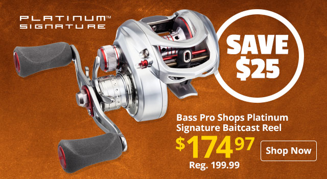 Bass Pro Shops Platinum Signature Baitcast Reel