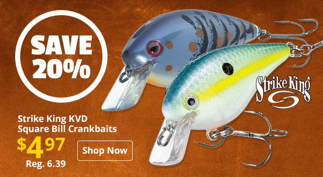 Strike King KVD Square Bill Crankbaits