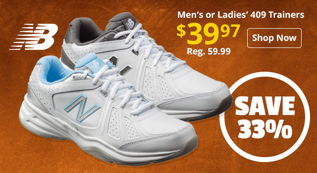 New Balance Men's Or Ladies' 409 Trainers