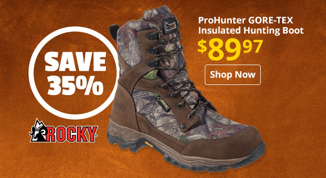 ROCKY ProHunter GORE-TEX Insulated Hunting Boot