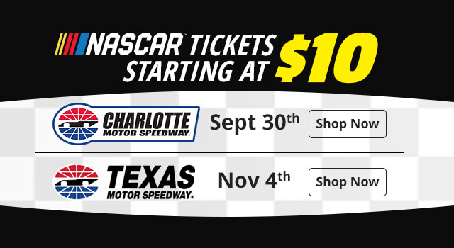 NASCAR Race Tickets