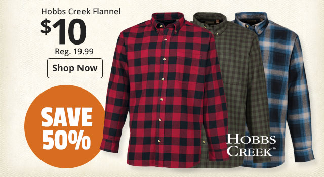 Hobbs Creek Flannel