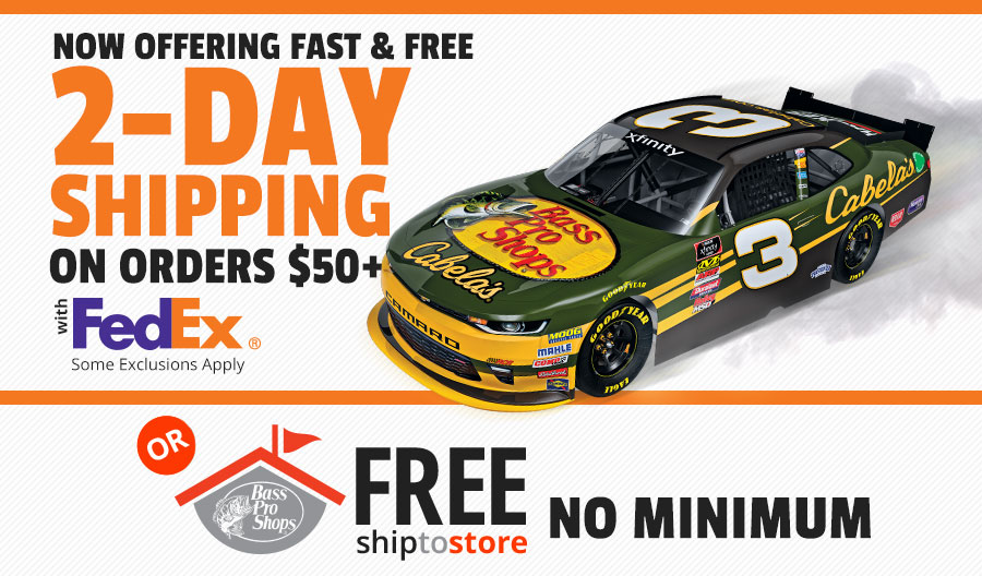 2 day shipping on orders 50 - Bass Pro After Christmas Sale