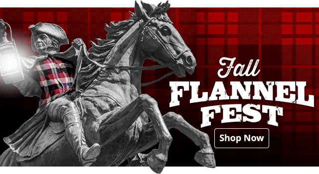 Fall Flannel Fest - Shop Now