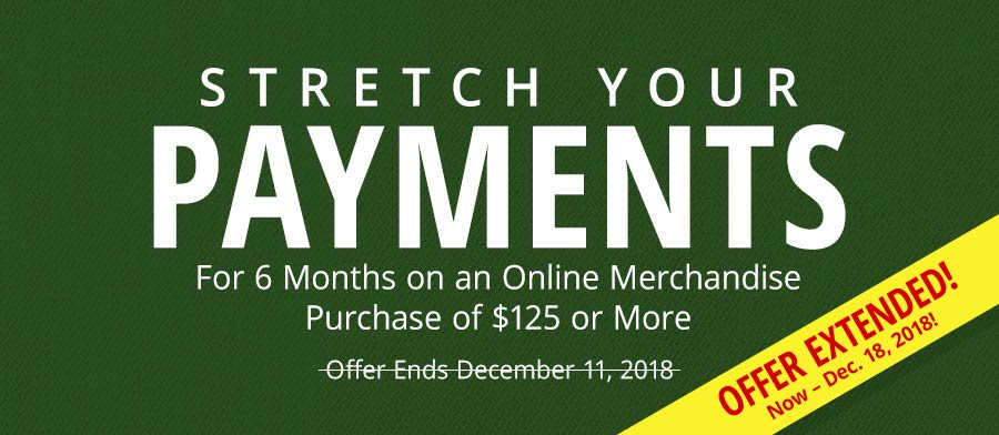 Stretch Your Payments for 6 Months